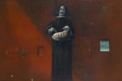 Diegos Inferno, olje na platno/oil on canvas, 1989, 70x100 cm